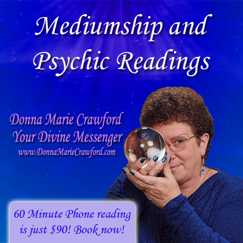 Readings available at www.DonnaMarieCrawford.com